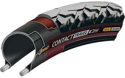 Continental Contact Travel