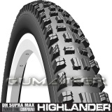 62-622 29x2,45 R02 Highlander DH Supra Max Textra+ hajtogatható Mitas kerékpár gumi